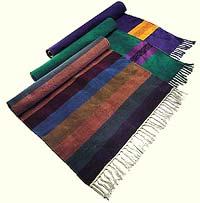 Great Woven Cotton Yoga Rug